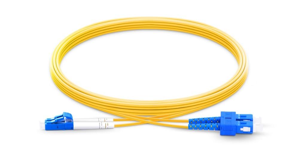 Upc SC LC UPC Patchcord 1m 15m duplex Cable de fibra óptica...