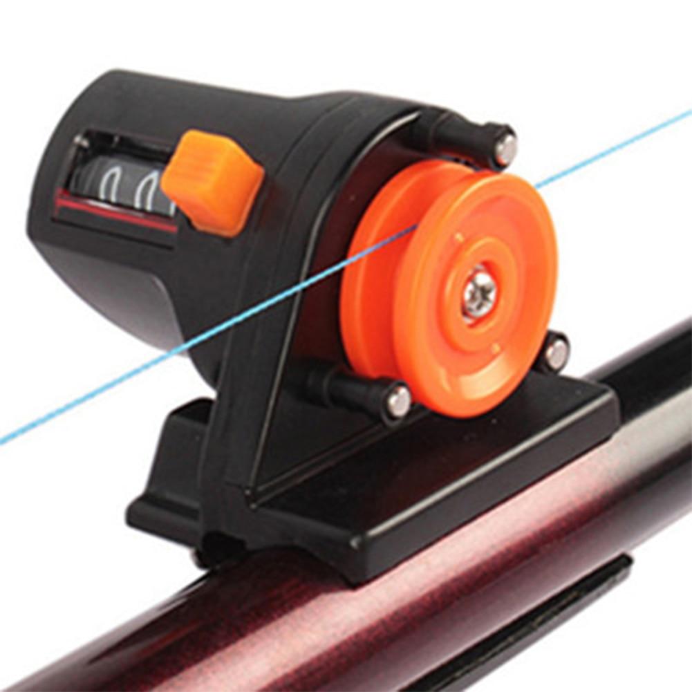 Cuentametros de pesca de 0 a 999M, medidor de longitud, herramienta de...