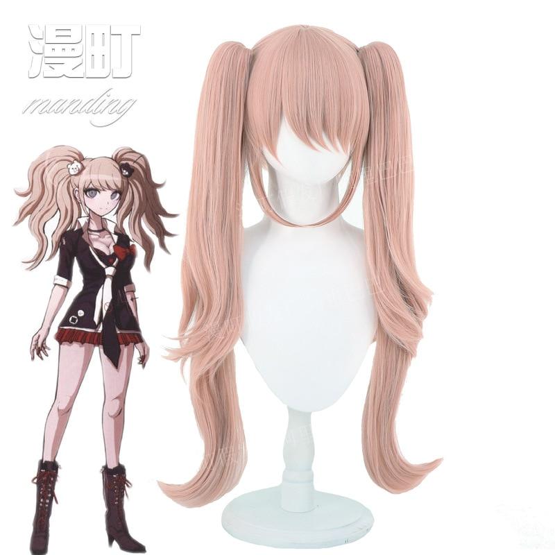 Anime wig projectile on breaking 2 Enoshima Junko COS wig cosplay AliExpress