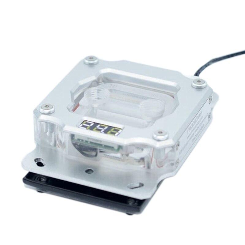 الكمبيوتر وحدة المعالجة المركزية تبريد المياه رئيس درجة الحرارة عرض UPR-2018 اللوحة الأم هالة متزامن AM2/AM3/AM3 +/AM4