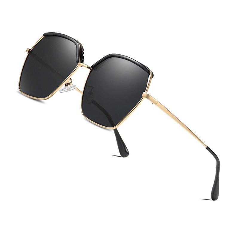 AOFLY BRAND DESIGN Polarized Sunglasses Women Gradient Lens Oversized Square Fashion Sun glasses Female Goggle Ladies UV400