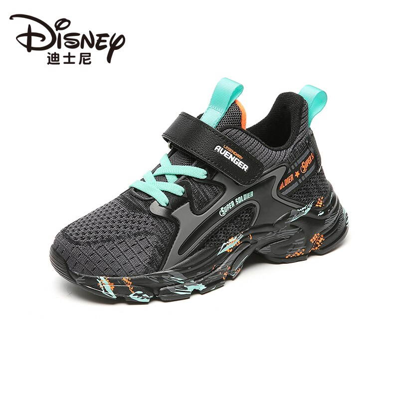 Limited Edition Marvel Heroes Avengers Captain America Children's Shoes Boys Sports Shoes Flying Knitted Breathable Casual Shoes enlarge