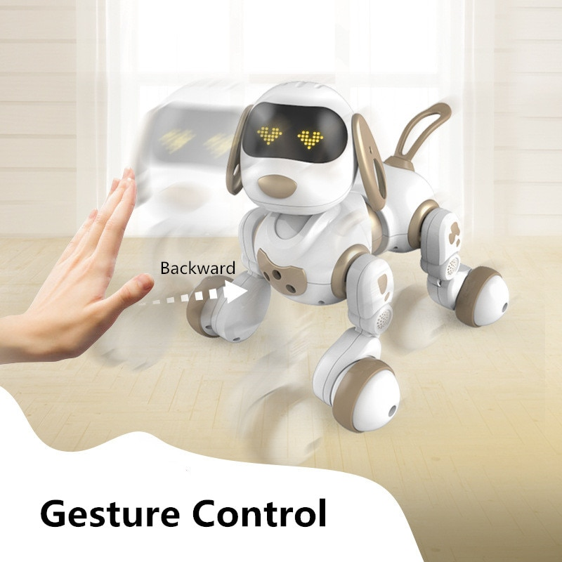 Intelligent Robot Dog Toy Can Talking Walk Singing Dancing Interactive Cute Puppy Electronic Pet Animal Model Play With Kid toys enlarge