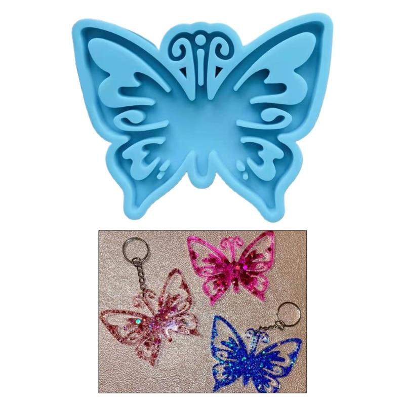 diy-искусственная-Орхидея-Бабочка-Форма-брелок-литья-силиконовые-формы-цепочка-для-ключей-эпоксидная-смола-форма-изделия-ручной-работы-Укр