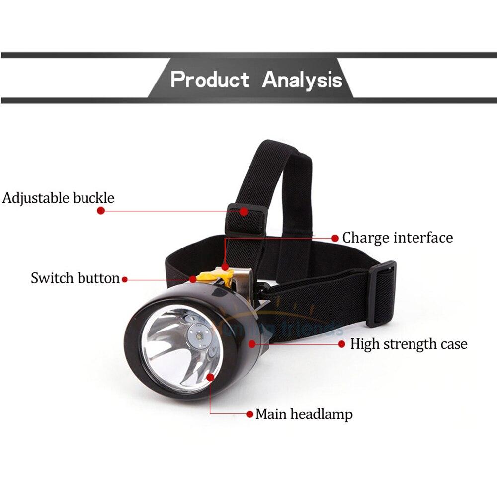 30pcs/lot Mining Cap headlight Lamp KL3.0LM Rechargeable Wireless LED Miners Head Light Flashlight for Hunting Night Fishing enlarge
