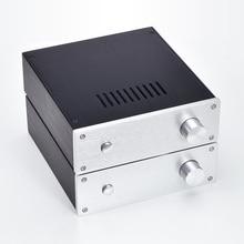 New DIY full Aluminum mini AMP  Enclosure headphone Case D2207 Power Amplifier Chassis