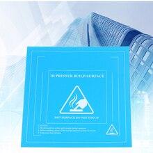 3D imprimante lit chaud film 235*235mm plate-forme magnétique hotbed autocollant anti-gauchissement bord haute température pour CR-10 CR-10S Ender3