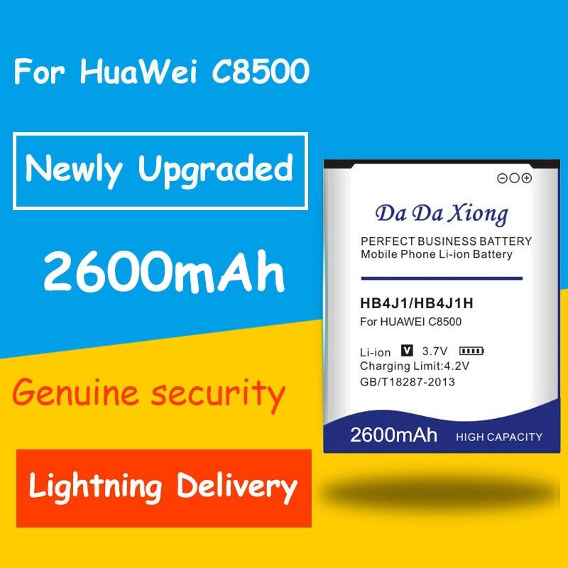 La protección y seguridad de 2600mAh HB4J1/HB4J1H batería para Huawei C8500 U8150 U8120 V845 IDEOS X3 T8300 U8500S T8100