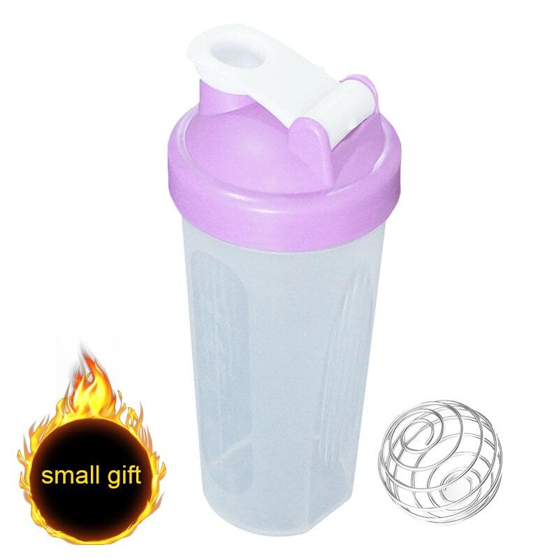 400 мл/600 мл бутылка для протеин, бутылка для смешивания, шейкер для занятий спортом и фитнесом, Спортивная бутылка для воды (маленький подарок...
