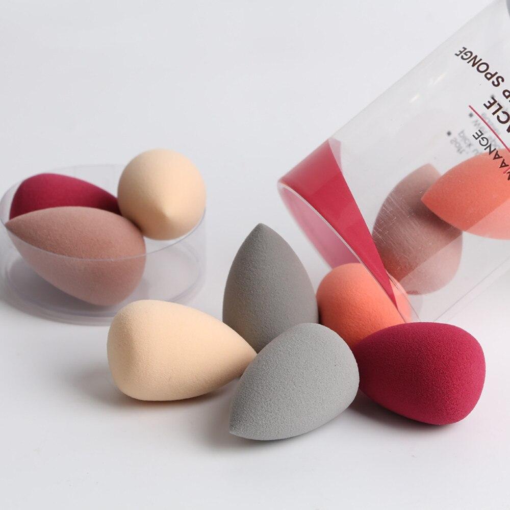 10 pièces/boîte Mini fond de teint en poudre maquillage éponge bouffée cosmétique correcteur mettre en évidence plus grand dans leau visage maquillage oeuf outils de beauté