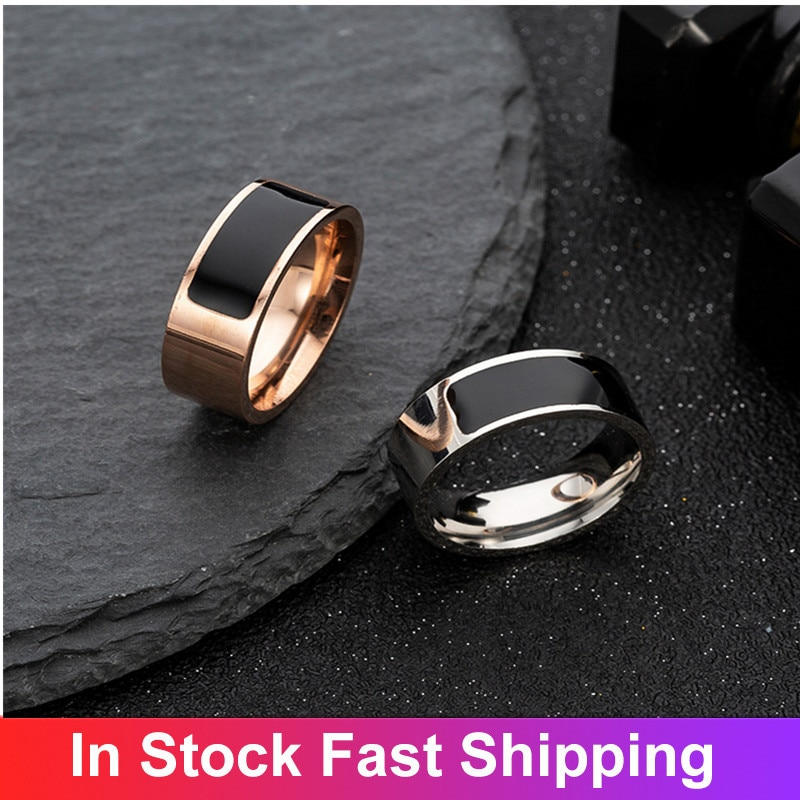 New Titanium Steel NFC Smart Ring Smart Wearable Device Accessories Smart Nfc Wearable Ring Wearable Devices Smart Accessories