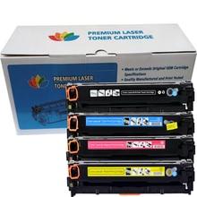 Cartouche toner de couleur Compatible CF410A - CF413A pour imprimante HP LaserJet Pro M452dn M452dw M452nw