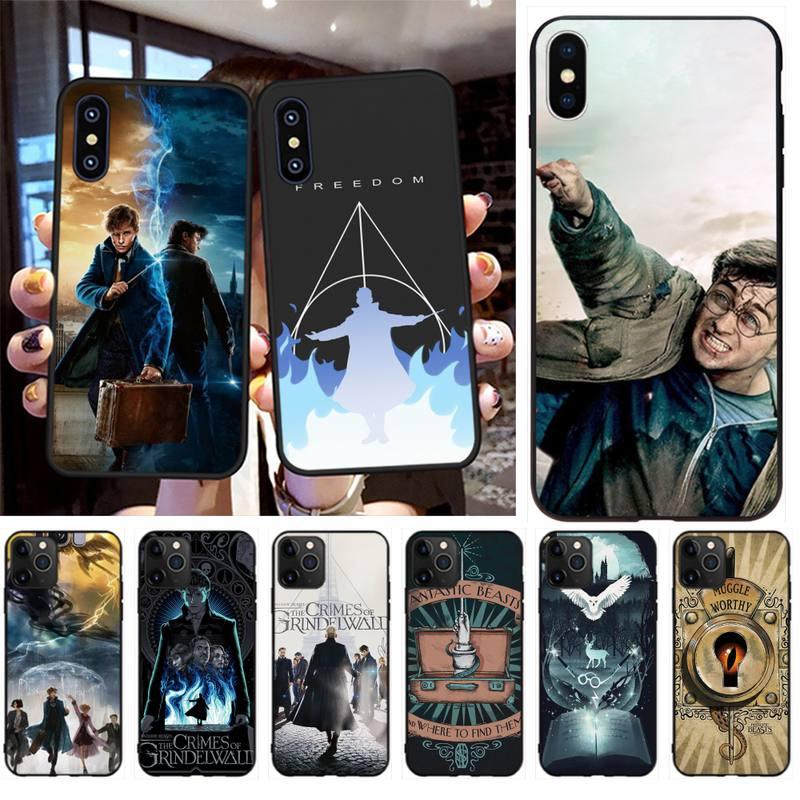 PENGHUWAN Fantastic Beasts Custom Photo Soft Phone Case for iPhone 11 pro XS MAX 8 7 6 6S Plus X 5S SE XR case