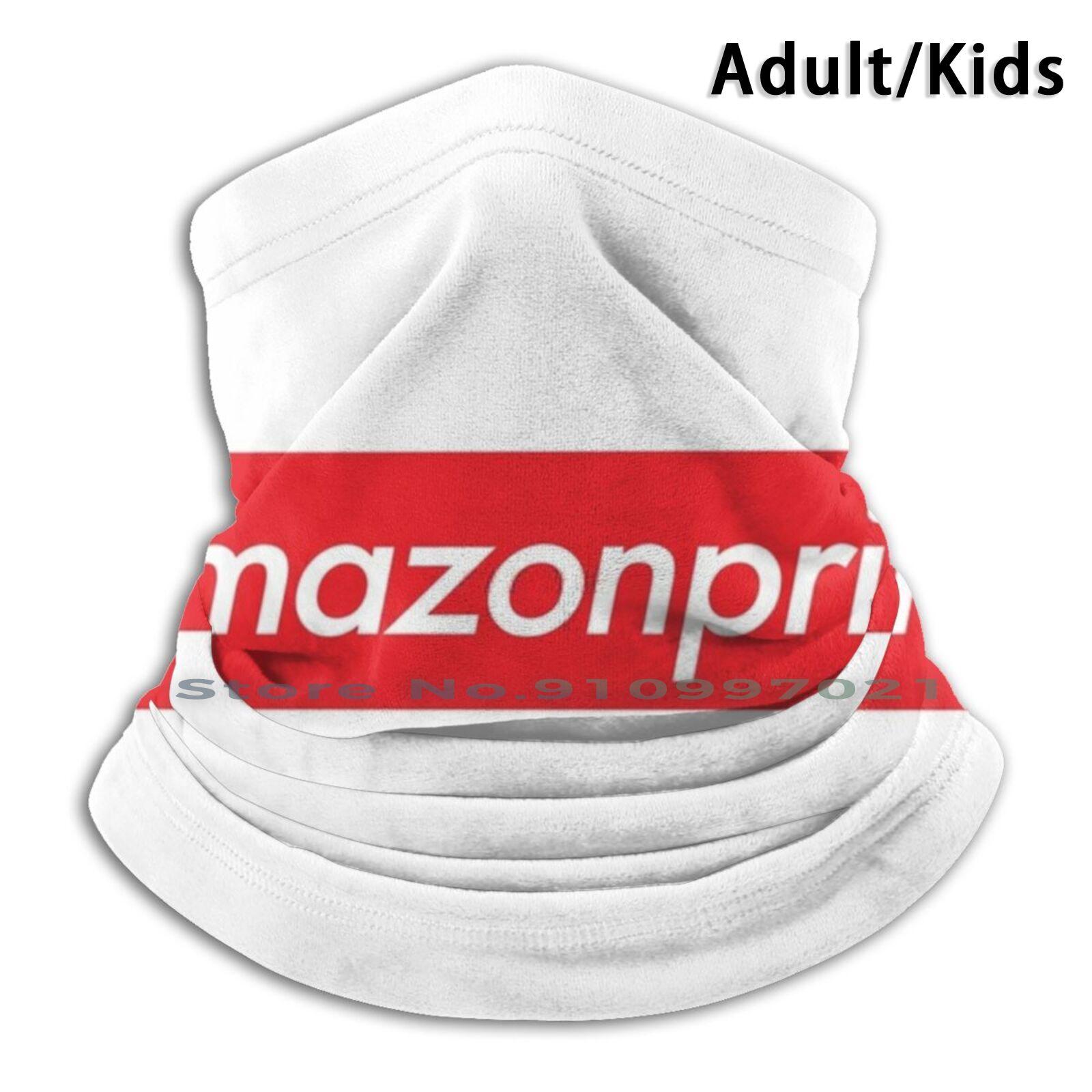 Prime Meme Shirt Scarf Mask Neck Warmer Face Wraps Foulard Bandana Mascarillas Jeff Bezos Prime Uavs Uavs Stock Bezos Bezos