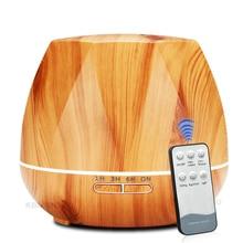 550 ml Ultraschall-luftbefeuchter Dampf Air Aroma Diffusor Ätherisches Öl Diffusor LED Nacht Licht für Home Office