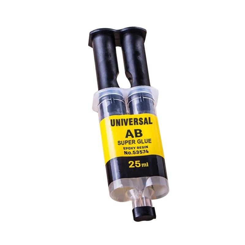 25ML Universal AB Super Glue Epoxy Resin Liquid Glue Strong Adhesive Plastic Glass Household Repair Glue For Metal Ceramics
