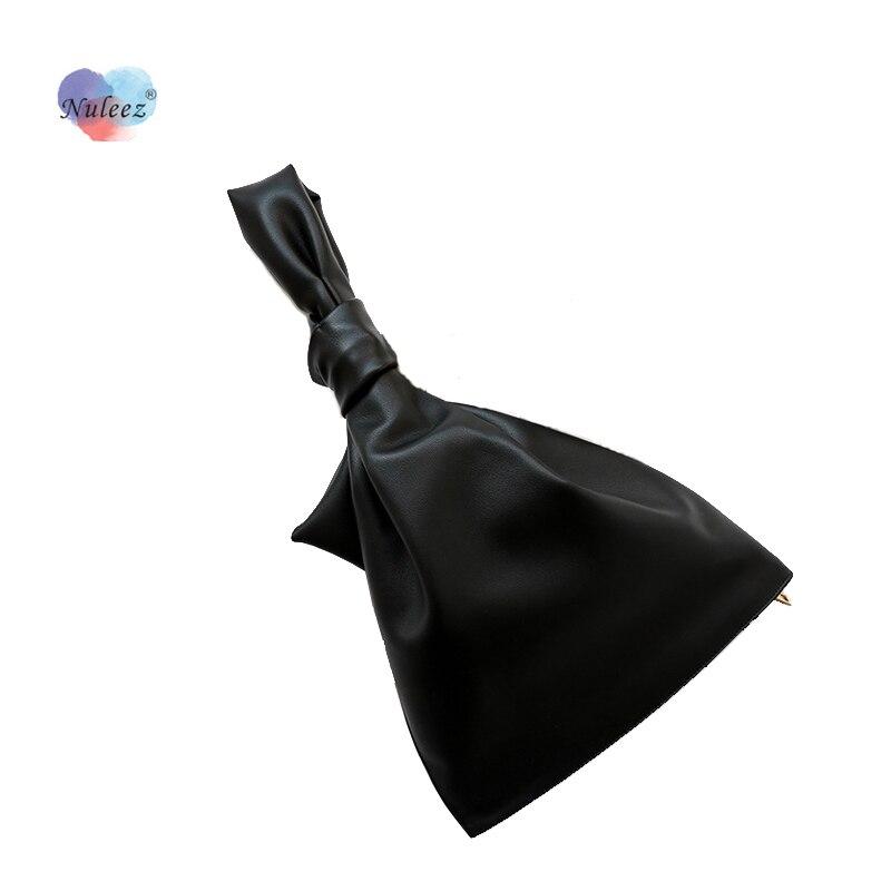 Nuleez-حقيبة يد مخصصة للنساء ، جلد البقر ، مقاس كبير ، موضة ، تصميم جديد