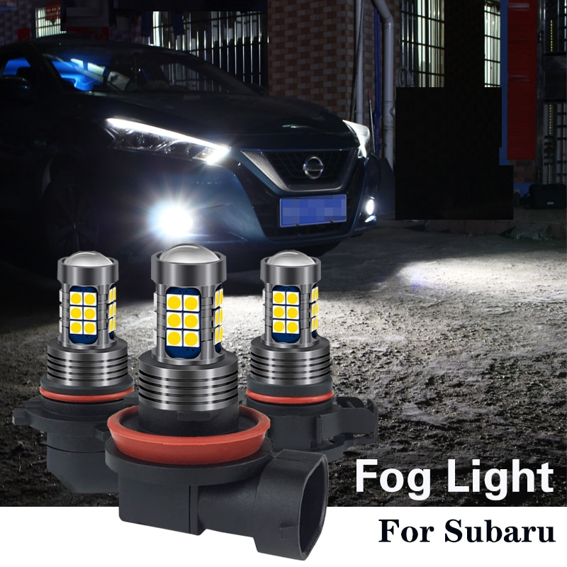 1 шт. H8 H11 PSX24W 2504 HB4 9006 HB3 9005 H16 светодиодный светильник для Subaru Legacy Forester Impreza Outback Tribeca Crosstrek XV BRZ