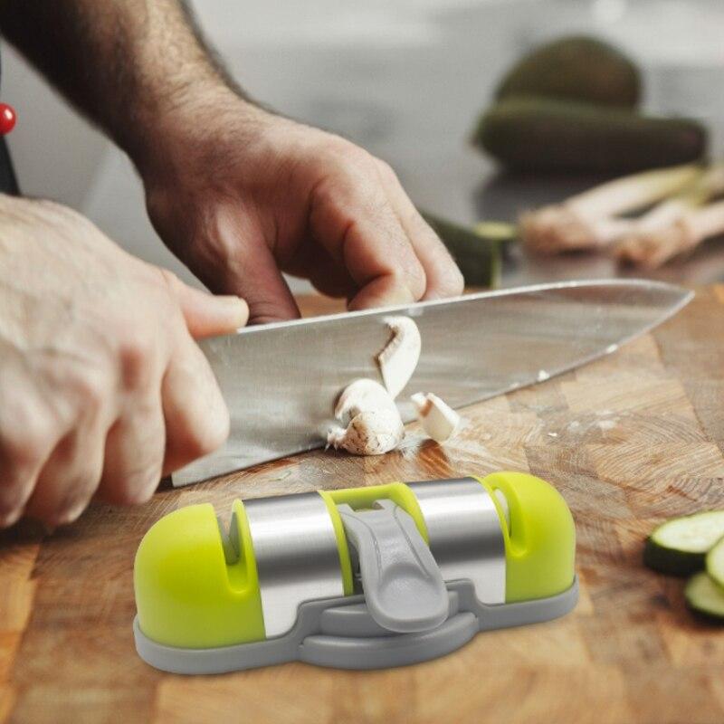 Taza de la succión de cuchillo afilador tonto reparable diamante piedra de afilar afiladores con piedra de afilar herramienta de piedra