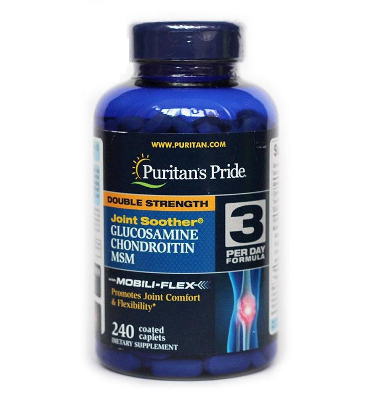 Kostenloser Versand Joint schnuller Glucosamin Chondroitin 240 stücke
