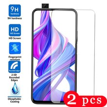 2Pcs Voor Huawei Honor 9x Pro Gehard Glas Smartphone Honor 8a 8 S 8c 8 Pro Lite 8x Max telefoon Screen Protector Beschermende Film