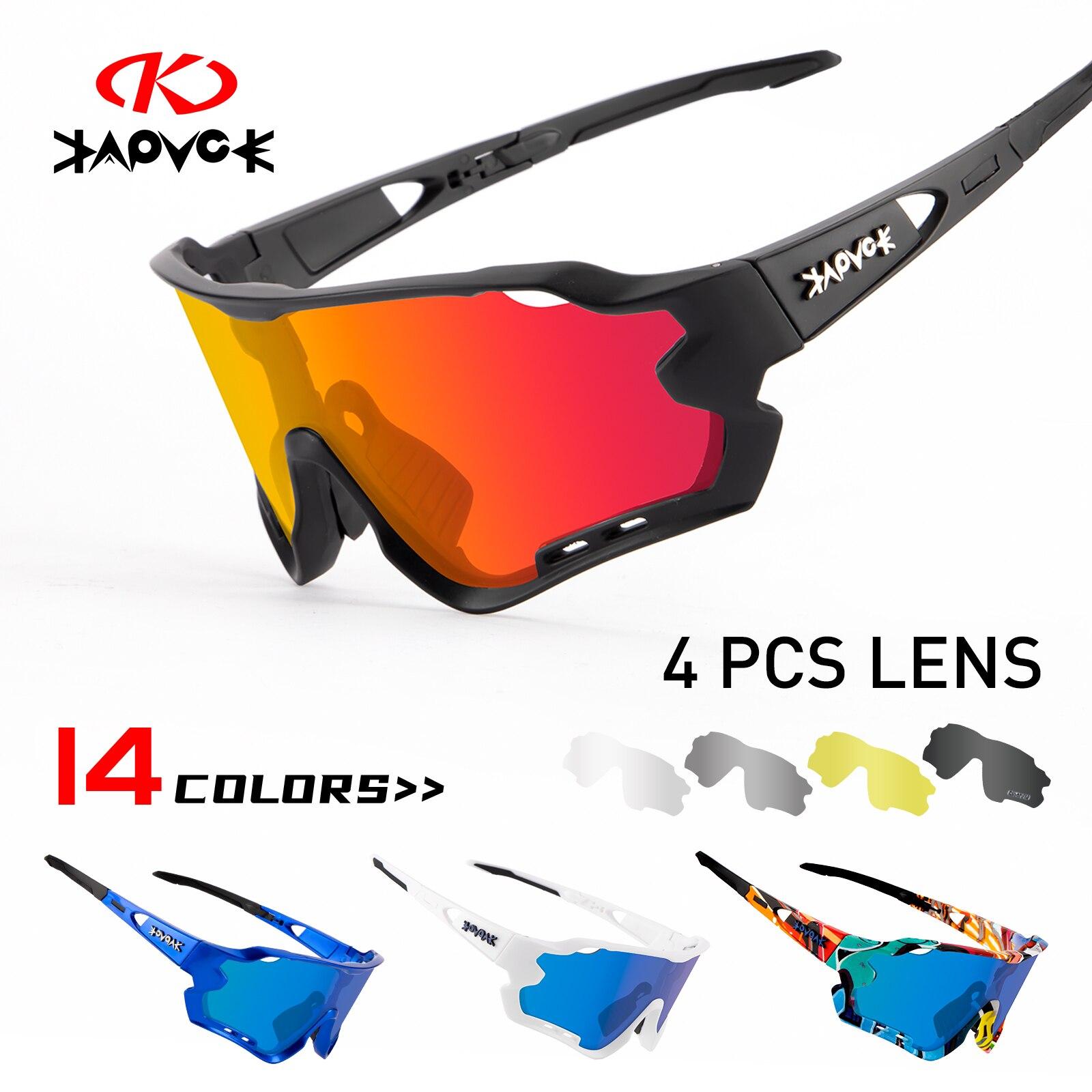 Cycling Glasses Men Sunglasses Bicycle Polaroid Photochromic 5 Lens Goggles Women MTB Man Bike Sports Fishing Accessories
