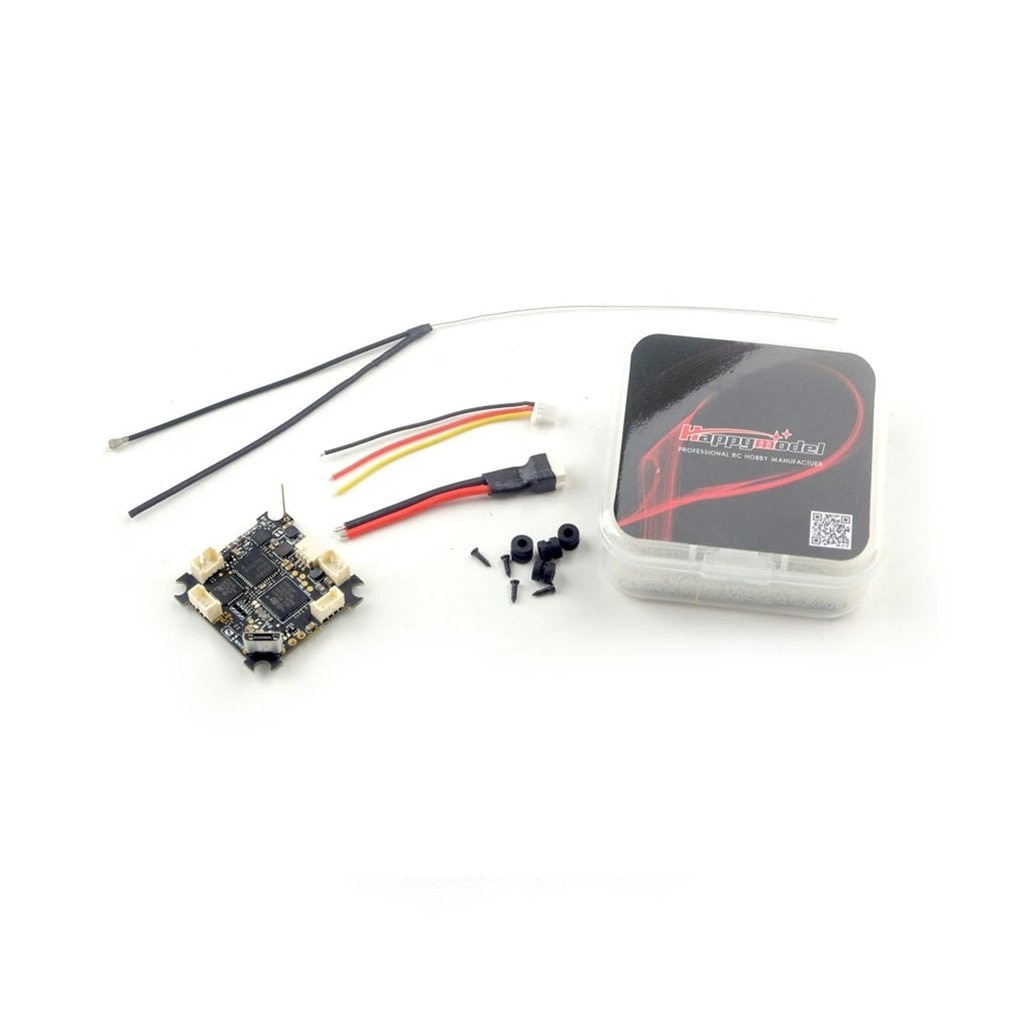 Happymodel 5 In 1 Flight Controller Integrated CrazyF4 ELRS AIO 2.4Ghz For Tinywhoop FPV Drone ELRS RX BLHELIS 5A 200mW enlarge