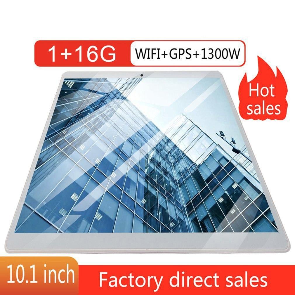 تابلت احترافي 10 بوصة 1 جيجابايت رام + 16 جيجابايت روم لأجهزة الأندرويد 8.0 واي فاي ثنائي الشريحة 3G تابلت خفيف الوزن EU/US/AU/UK