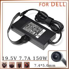 150W Power Supply 19.5V 7.7A 7.4*5.0mm Laptop Adapter for Dell Alienware M11X M14X M15X E5510 E6420