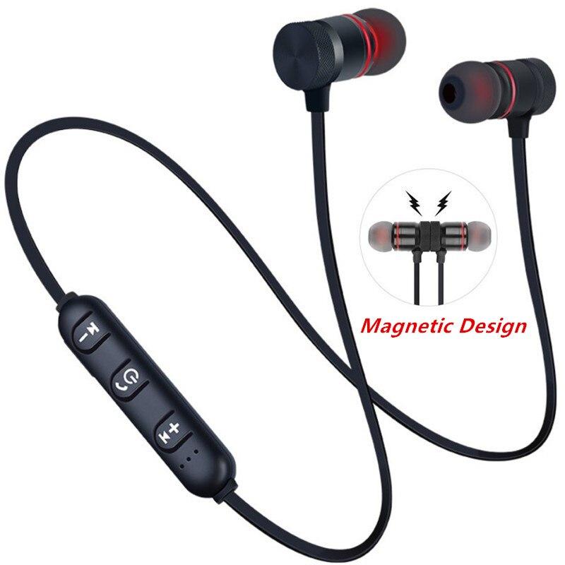 Спортивные Bluetooth-наушники с шейным ободом, магнитные беспроводные наушники, стереонауш