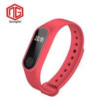 NEUE M2 Smart Mode Sport Uhr Fitness Tracker Läuft Armband Schritt Zählen Abstand Kalorien Rechner Band Für Männer Frauen Kinder