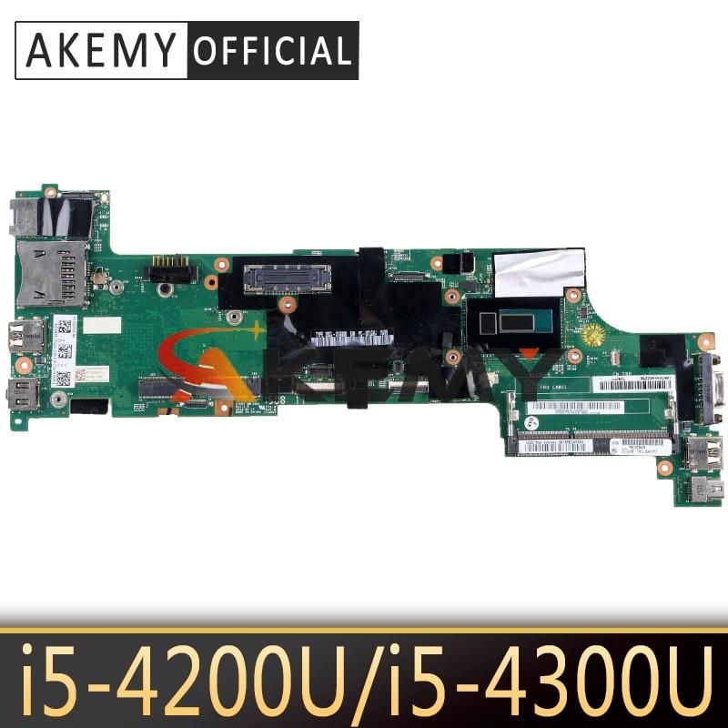 Akemy para Lenovo Trabalho de Teste Thinkpad Notebook Motherboard – I5-4300u 100% Fru 04×5171 00hm953 04×5165 00hm952 04×5159 I5-4200u X240