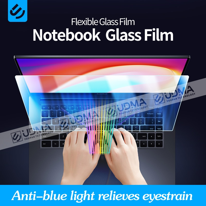 UDMA Anti-blue Protective Film for Laptops 1314 15.6 17 inch Flexible Glass Film16:9 Screen protecto