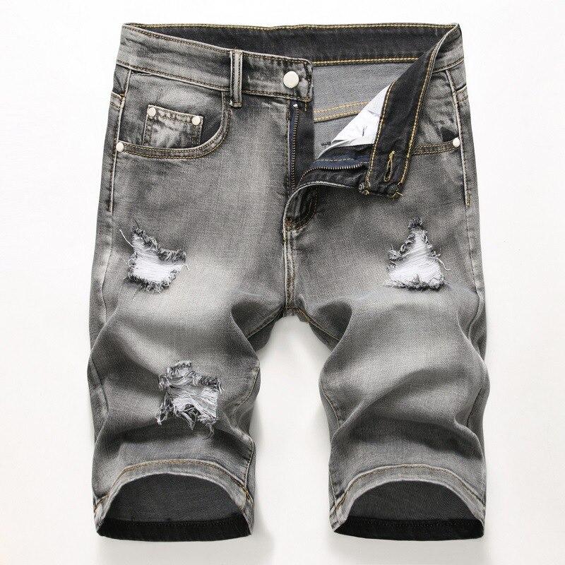 Рваные джинсы шорты Для Мужчин's рваные Джинсовые Шорты Гей Шорты для Для мужчин потертые Пляжные шорты Для мужчин Рубашки домашние Уличная ...