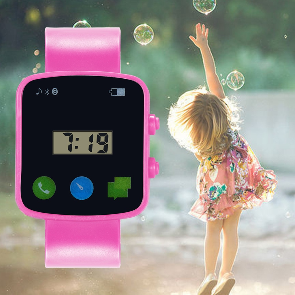 Children Analog Digital Sport LED Electronic Waterproof Wrist Watch Casual New Reloj Watch Boy Girl