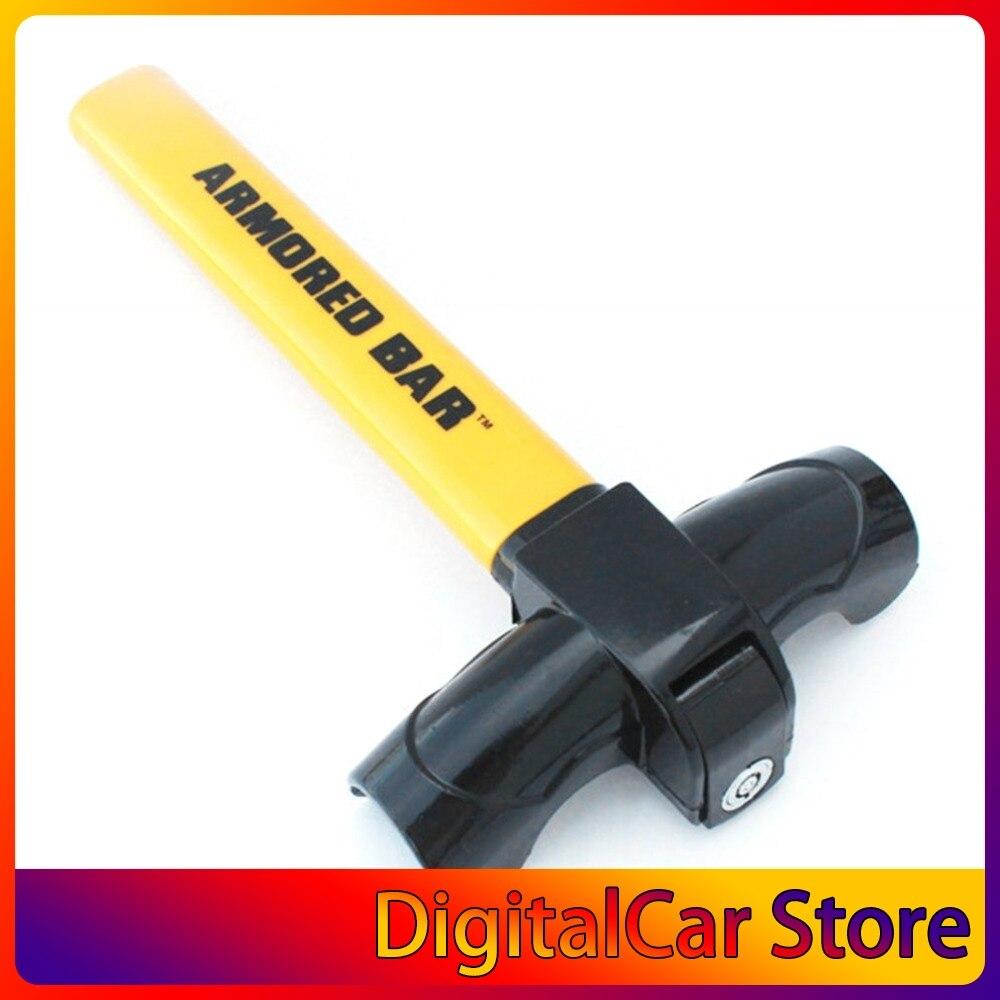 1PC Anti Theft Steering Wheel Lock Car Steering Wheel Lock T Shape High Safety Anti-Theft Lock For Car SUV Truck Auto Cars Lock