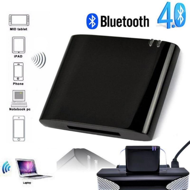 Беспроводной Bluetooth-адаптер Lanpice, стерео Bluetooth 4,1, музыкальный приемник, аудиоадаптер для iPhone, iPod, 30 контактов, док-станция для динамика