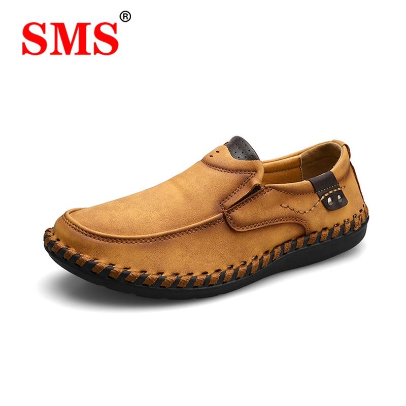 SMS/мужская повседневная обувь; Лоферы; Мужские кроссовки; Модная прогулочная обувь; Удобные кожаные лоферы; Повседневная обувь; Zapatos De Hombre