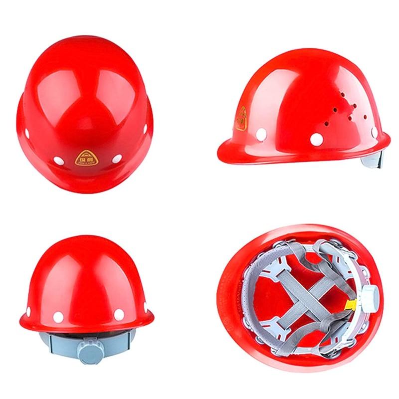 Capacete de segurança Cap Chapéu Trabalho Duro Armazém Trabalhador PE Material De Isolamento De Plástico Vermelho Amarelo Segurança do Trabalho de Proteção para a Cabeça