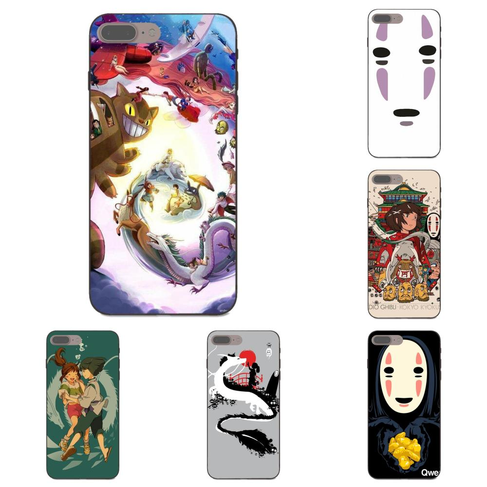 Dibujo animado japonés sin rostro masculino para Samsung Galaxy Note 4 8 9 S3 S4 S5 S6 S7 S8 S9 S10 Edge Plus Lite I9080 G313