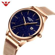 NIBOSI femmes montres magnétique ciel étoilé femme horloge Quartz montre-bracelet mode dames montre-bracelet reloj mujer relogio feminino