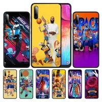 space jam a new legacy phone case for samsung s21 ultra s6 s7 edge s8 s9 s10 s20 plus lite s10e note 10 20 pro coque