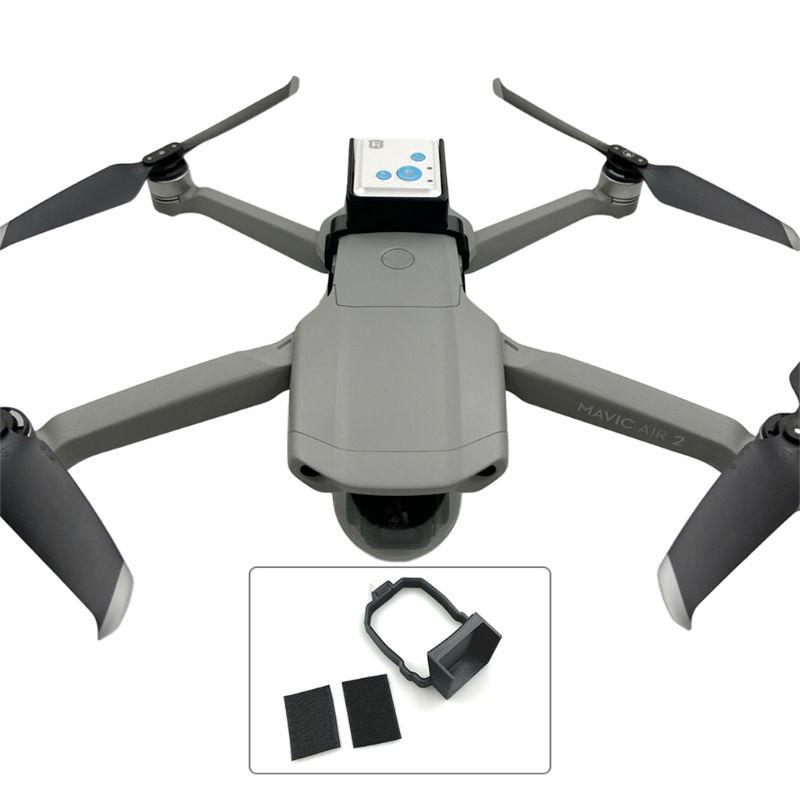 Caja de carga superior impresa 3D Cámara GPS Tracker Bracket para D-JI Mavic Air 2 M68F