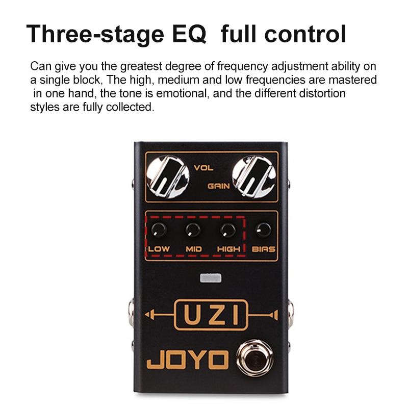 Guitar Effects Bias Knob Electric Guitar Effects Adjust American And British Distortion Joyo R03 Guitar Effects enlarge