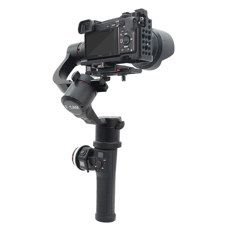مثبت قاعدة كاميرا SLR رقمية بدون مرآة بخاصية اللمس الذكي 3 محاور للكاميرات SLR