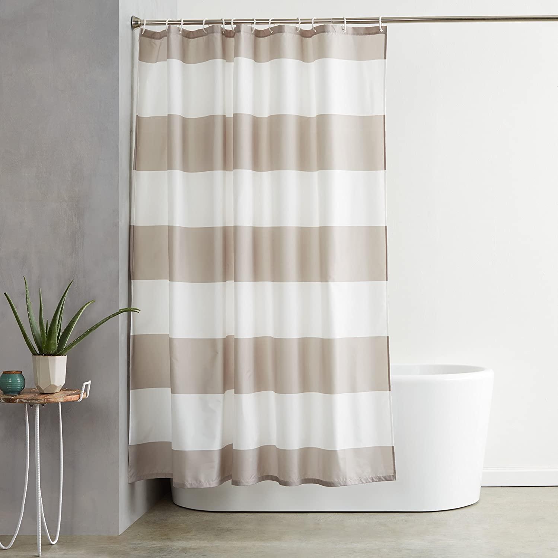 Vorhang-cortina De ducha moderna con ganchos, juego De Cortinas De Dormitorio para...