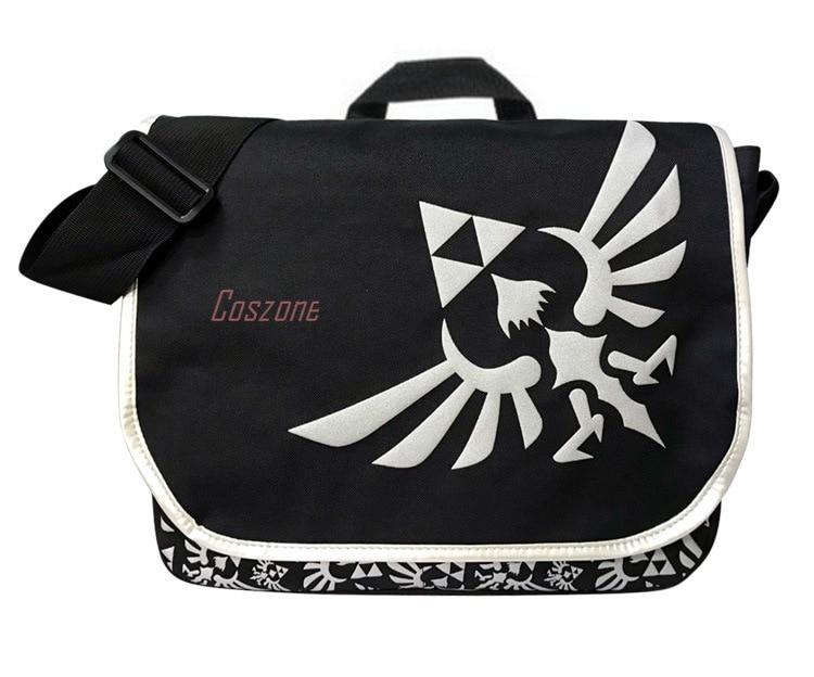 """Juego """"Legend of Zelda"""" multifuncional bolsa mensajero portátil bolso de hombro bolsa de dibujos animados Cosplay escuela bolsa de regalo"""