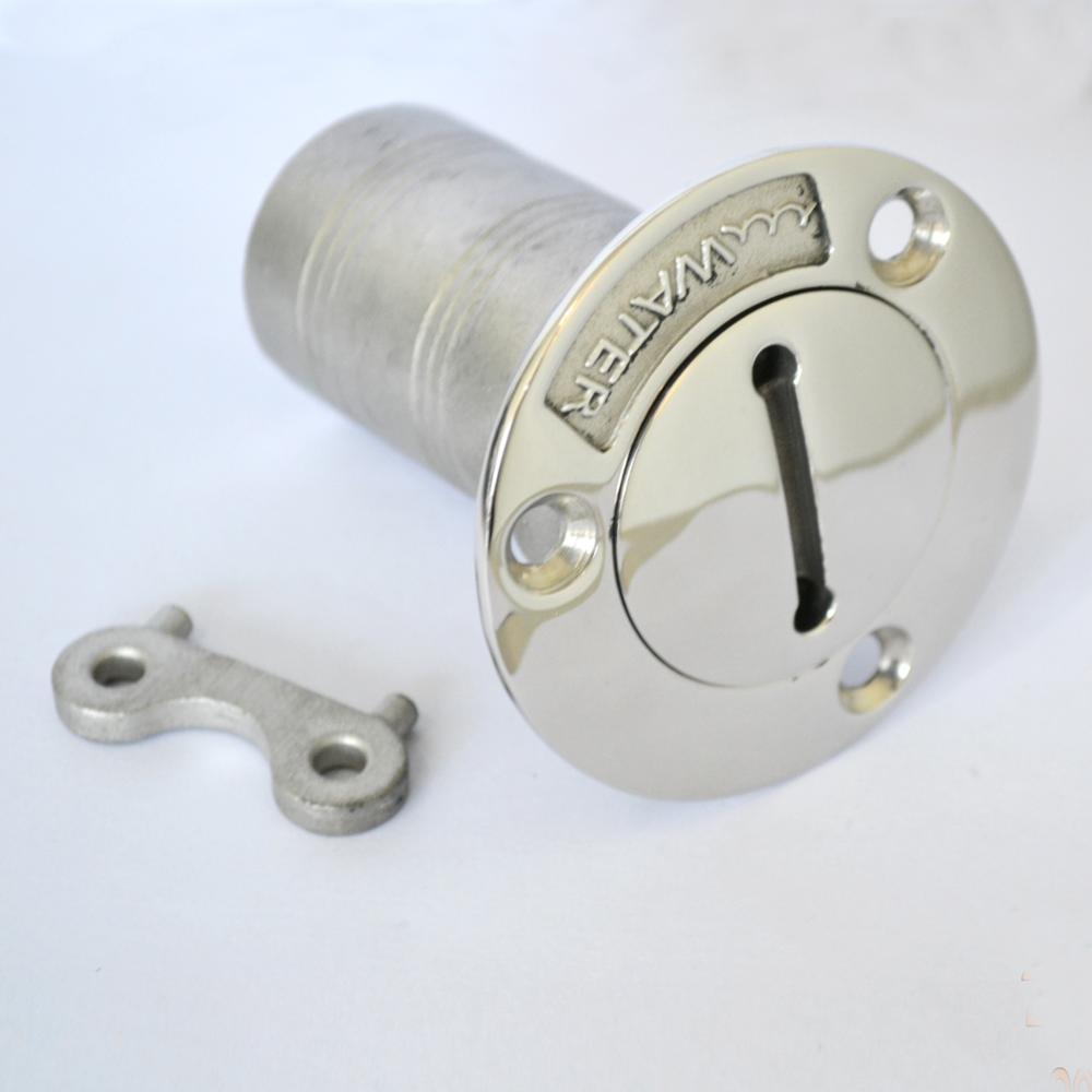 Наполнитель для лодки/наполнитель с ключом для воды/газа/топлива/дизельного топлива/отходов Морской 316 нержавеющая сталь
