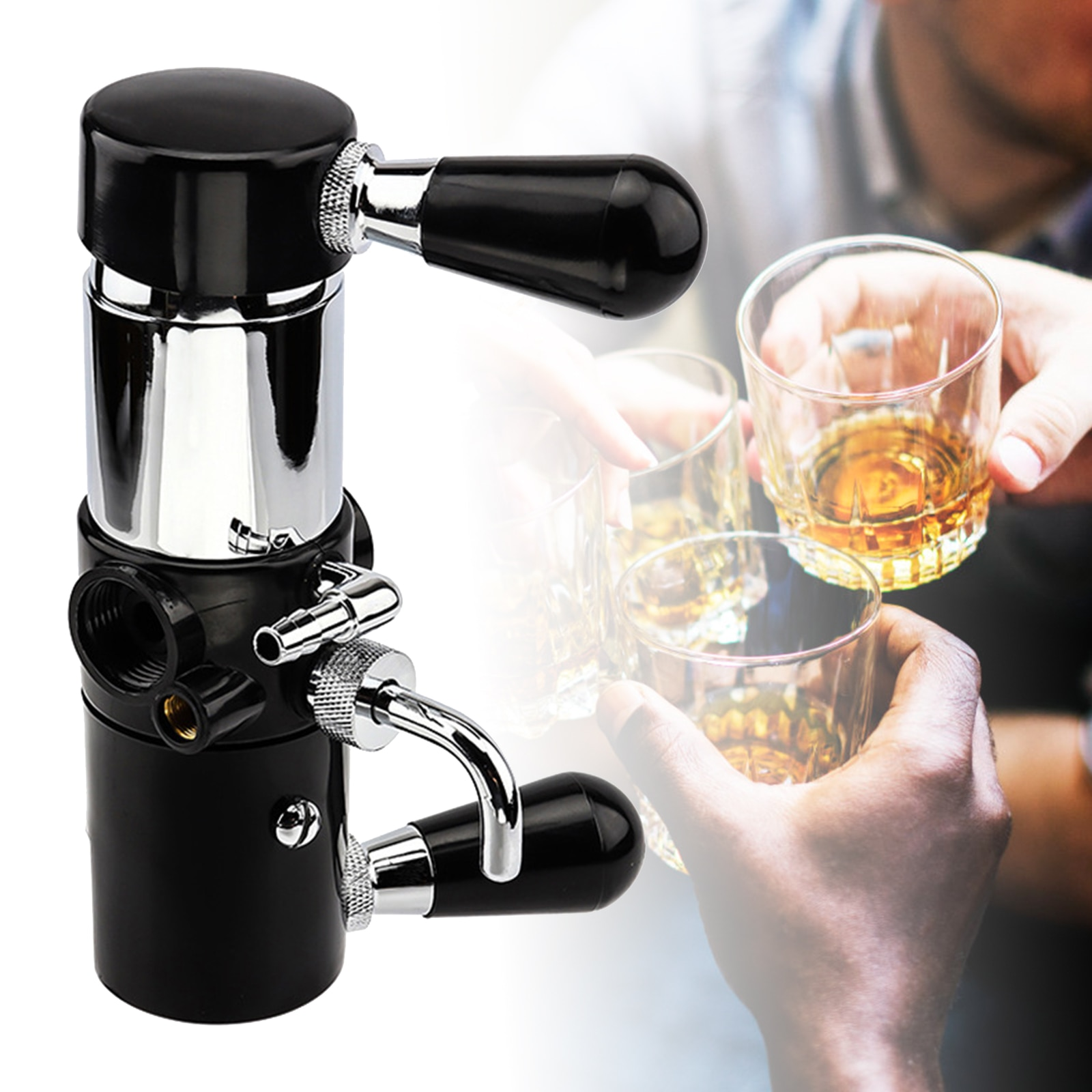 Homebrew Beer Bottle Fill Beer Tap Defoaming Beer Tap Maximize Beer Freshness and Authenticity Tools Bar Brewing Accessories