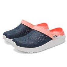 2020 Crocse hommes plage Sandales Crocks été décontracté Homme Croc chaussures sabots hommes Sandalias Chaussure Homme pantoufles en plein air Sandales